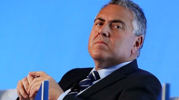 Joe Hockey sad
