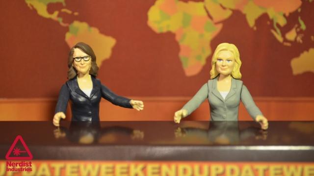Tina Fey & Amy Poehler, yesterday