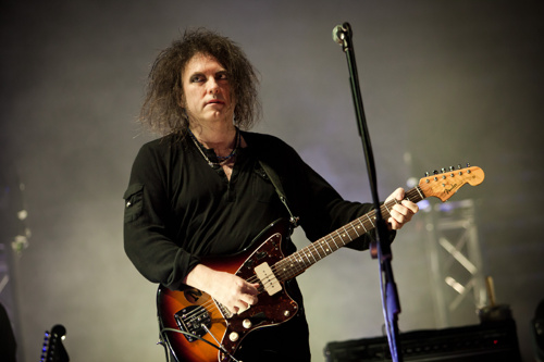 The Cure soundcheck at Vivid Live: pic by Daniel Boud, who is a freakin' photography legend-genius:  http://danielboud.com/